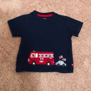 OshKosh B'gosh | 🚒 dark blue baby boys tee